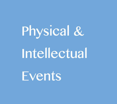 Physical and Intellectual events