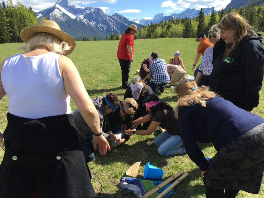 Banff Team building