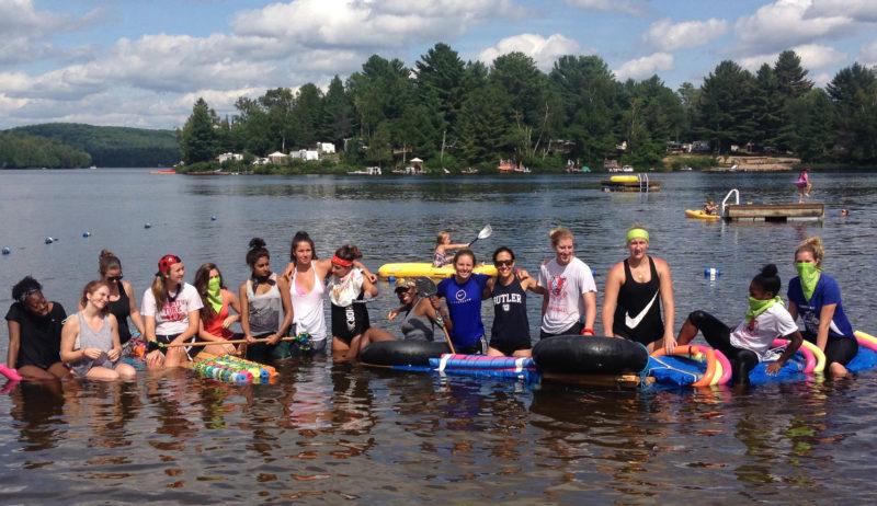 Raft building challenge